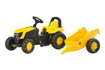 JCB ROLLY KID WITH TRAILER