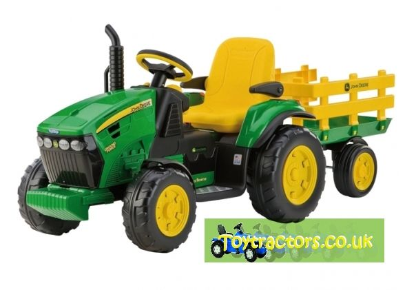 John Deere Ground Force Tractor & Trailer