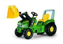 JOHN DEERE X-TRAC WITH LOADER