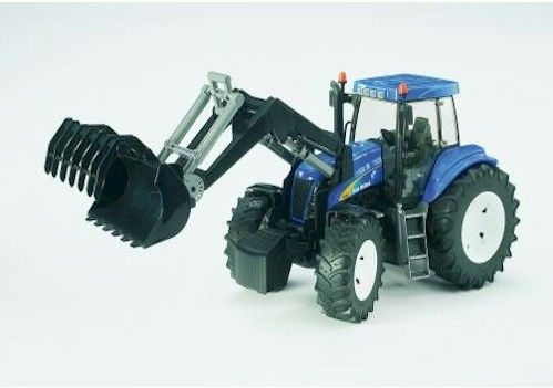 NEW HOLLAND TG285 WITH LOADER