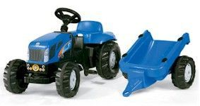 NEW HOLLAND TVT190 WITH TRAILER